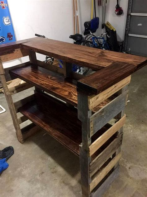 build a pallet bar by 101