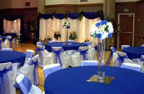 blue and silver decor blue and silver wedding decorations wedding party decor