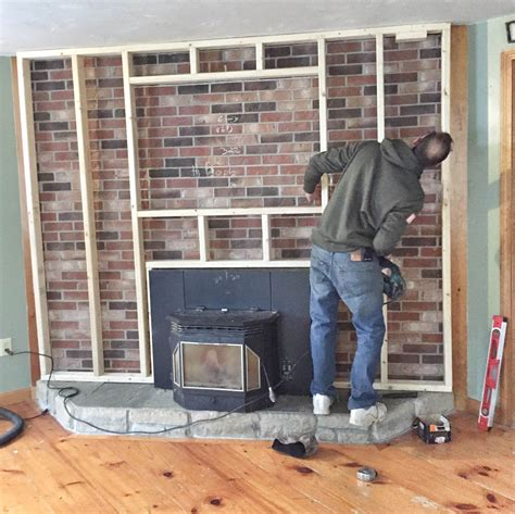 1950s Fireplaces by Our Brick Fireplace Makeover