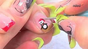 Deco Ongle Noel : d coration ongle nail art pour l 39 hiver et no l avec nded ~ Melissatoandfro.com Idées de Décoration
