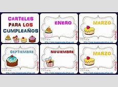 Tarjetas imprimibles Plantillas rincón del cumpleaños