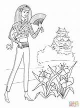 Coloring Flamenco Pages Clothes Shoes Popular sketch template