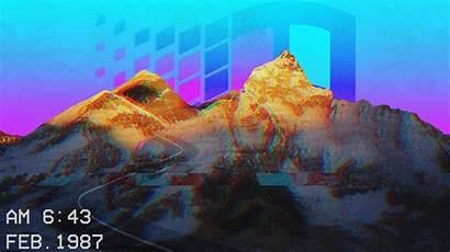 Vaporwave Wallpapers 3d Cg Laptop Object Wallpapertag