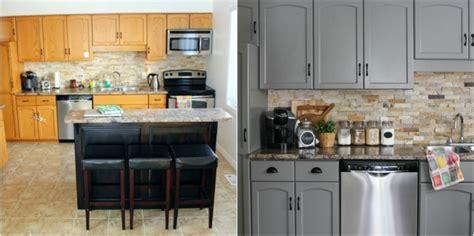 repeindre cuisine en gris 1001 conseils et idées de relooking cuisine à petit prix