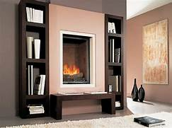 Feature Friday Bookcases 6 Electric Fireplace Ideas Bedroom Contemporary With Bedroom Decorating Built Ins Around Fireplace Built Ins Around Tall Stone Fireplace Ideas In Entranching Fireplace Shelving For Home Living Design Ideas