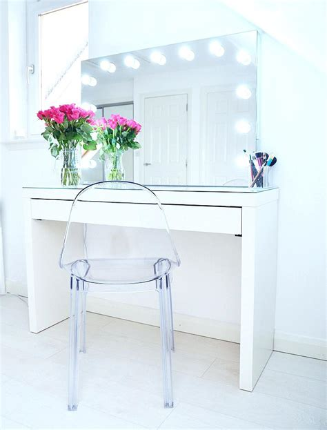 ikea dressing table mirror makeup storage ideas ikea malm vanity with mirror dressing