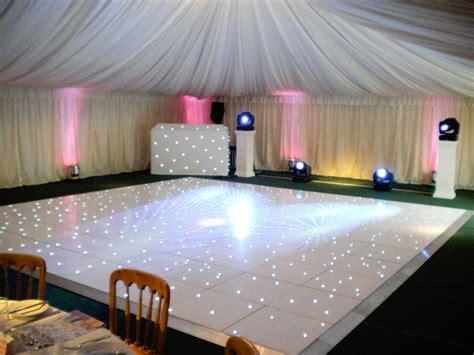 led dancefloor  expectations weddings