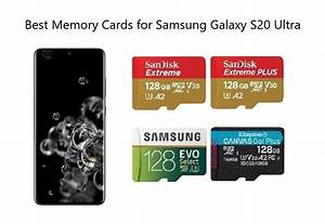Best Memory Cards For Samsung Galaxy S20 Ultra