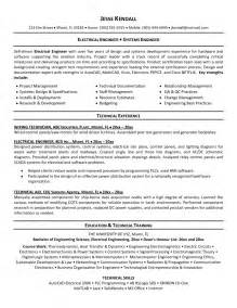 Electrical Engineering Professor Resume by Engineering Resume Pdf Free Resume Exle And Writing