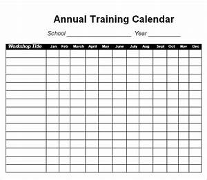12 sample training calendar templates to download sample With running training calendar template