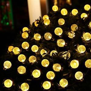 hot 30 led ledertek solar outdoor string lights 20ft 30 With 20 foot outdoor string lights
