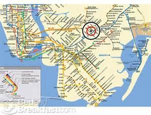 New York Subway Map Brooklyn