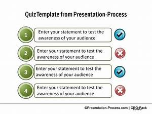 create a quiz in powerpoint With make a test template