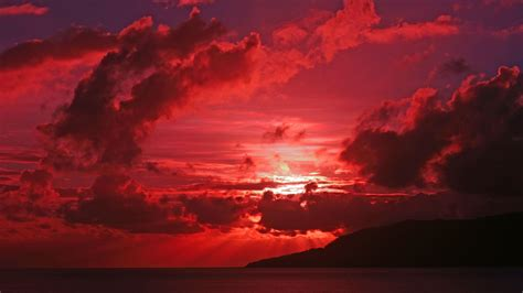 red sky  sunset wallpapers trend