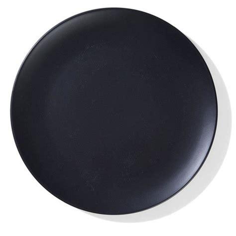 matte black dinner plate kmart