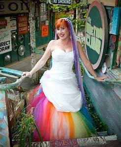 stunning rainbow fashion looks for your gay wedding With gay wedding dress