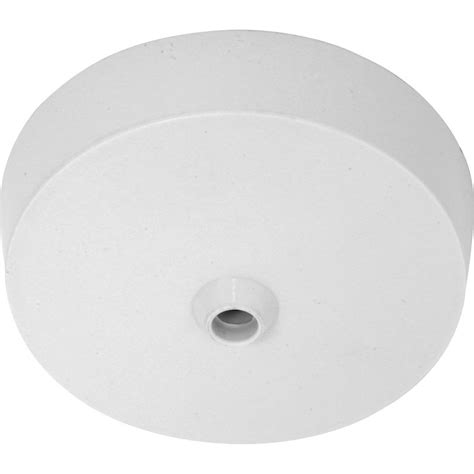 Terminal Easy Fit Plastic Ceiling Rose Traditional