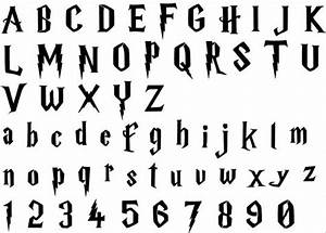 harry potter alphabet font stencil this listing is for With harry potter letter stencils