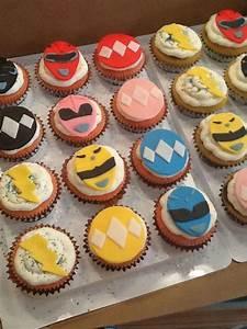 Power Ranger Cupcakes - CakeCentral com
