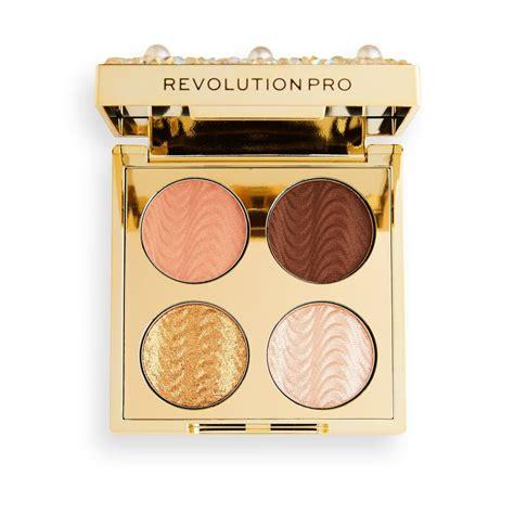 revolution pro diamonds pearls shadow palette revolution beauty official site