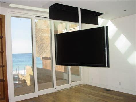 bedroom tv mount attic mount tv lift swivel contemporary bedroom