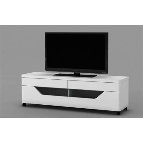 Banc Tv Blanc Pas Cher  Maison Design Wibliacom