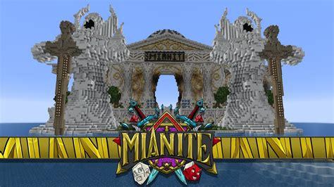 minecraft mianite  incredible mianite temple