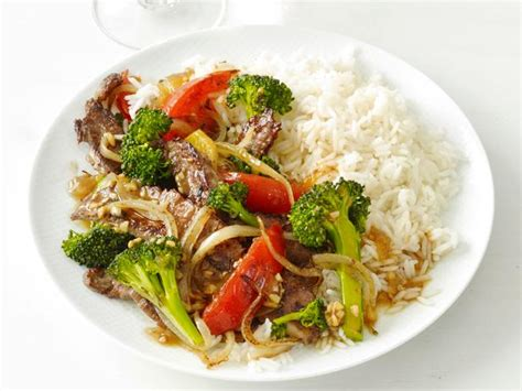chinese beef  broccoli recipe food network kitchen