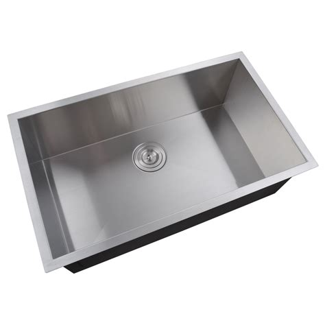 european kitchen sinks stainless steel kes 30 inch kitchen sink stainless steel single bowl