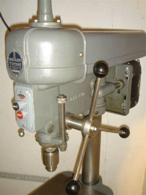 walker turner drill press hubpages