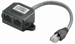 Klettbänder Für Kabel : cat 5 kabel splitter strukturierte verkabelungsadapter 2x 10 100 baset ~ Markanthonyermac.com Haus und Dekorationen