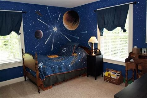 This #bedroom Is Out Of This World With Stars And Planets