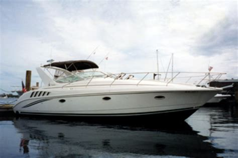 Soundings Boats For Sale by Used Boat Review Silverton 361 Express Soundings