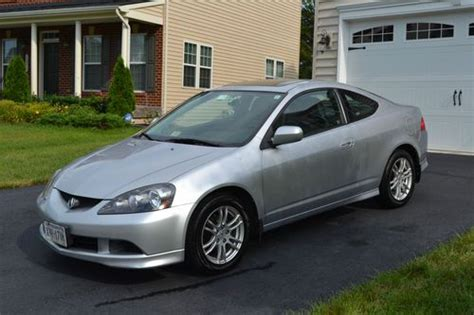 purchase   acura rsx silver coupe  door