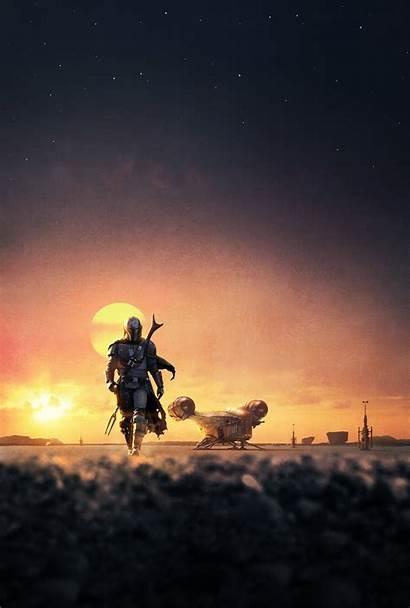 Mandalorian Wars Star Background Wallpapers 4k Tv
