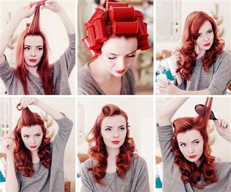 1940s Hairstyles Tutorial by Fabulous 40s Hair Tutorials Pinup Hair Tutorial