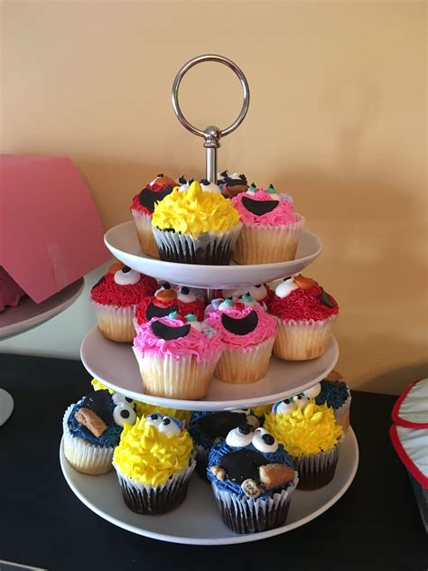Well, me known for eating cookie when me don't, they shout look, he trying to throw loyal fans a curve! Sesame Street cupcakes   Sesame street cupcakes, Desserts, Food