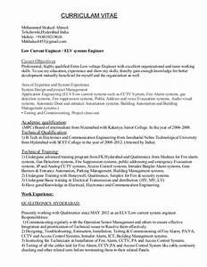 Elv engineer resume for Engineering resume builder