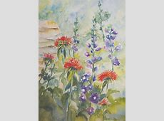 Painting Flowers in Watercolor with Emily Wahl BreckCreate