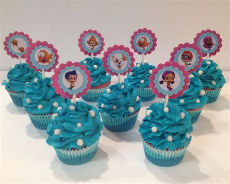 bubble guppies cupcakes by jilllee s goodees harpers 2nd