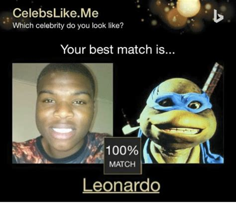 Best Dank Memes - celebs like me which celebrity do you look like your best match is 100 match leonardo best