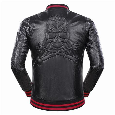 cheap motorcycle leathers cheap philipp plein pp jackets long sleeved in 300027 for