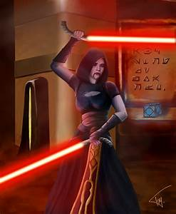 Asajj Ventress by MillenniumPainter on DeviantArt