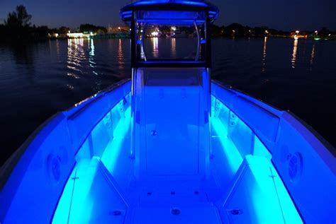 Diablo Boat Lights by Gunnel Lighting Blue Leds Question The Hull