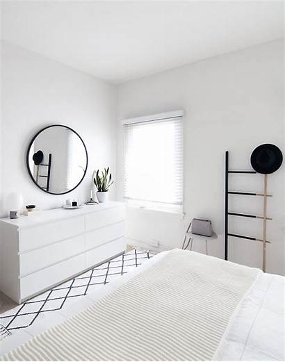 Bedroom Minimal Scandinavian Modern Dresser Achieve Mirror