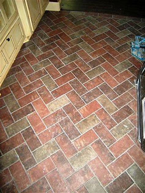 ceramic floor tile that looks like brick brick veneer on family room floor ceramic tile advice forums john bridge ceramic tile