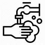 Hygiene Wash Icon Clean Handwashing Bubble Washing