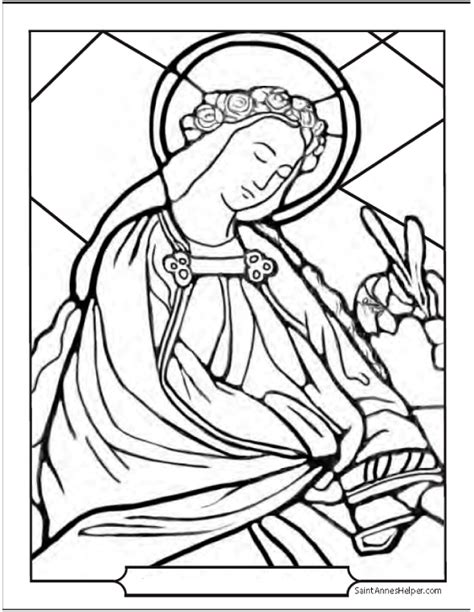 st jerome catholic coloring pages