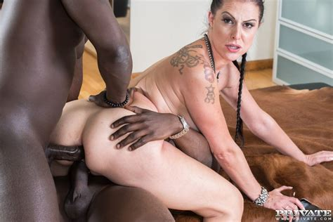 German Milf Texas Patti Takes It In The Ass From Two Black Men With Big Dicks
