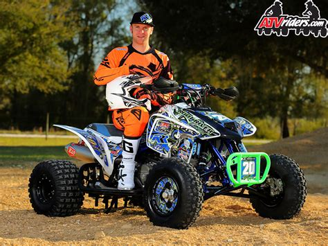 atv motocross josh upperman pro atv motocross racer